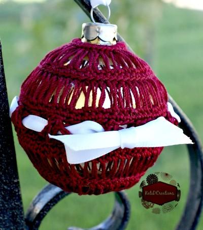 Broomstick Lace Ornament