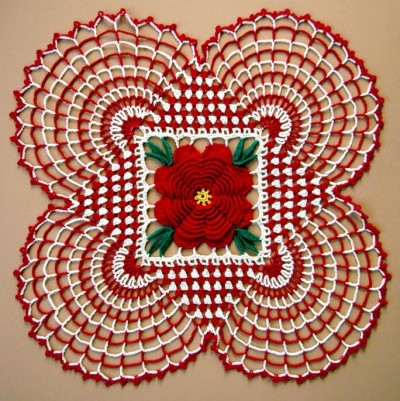 Country Christmas Doily: A Free Crochet Pattern For You