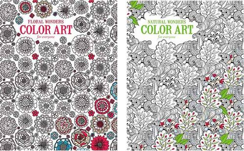 More Coloring Books!