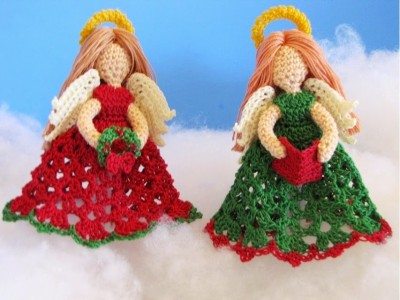 The Littlest Angels Christmas Ornaments