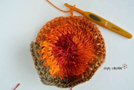 Whimsical Penelope's Floral Slouch -- Free crochet pattern by Simply Collectible Crochet