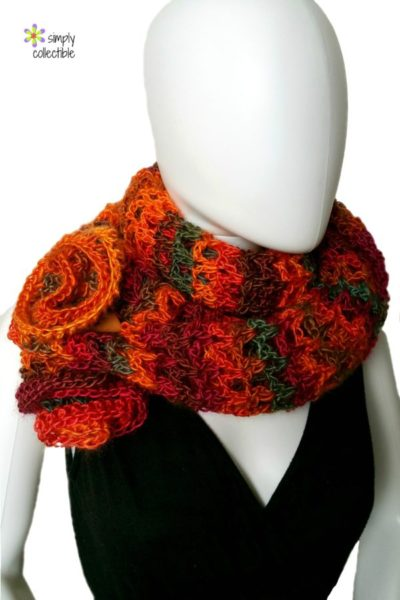 Coraline in Rio Mini Wrap crochet pattern by Simply Collectible