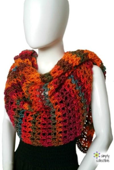 Coraline in Rio Wrap crochet pattern by Simply Collectible