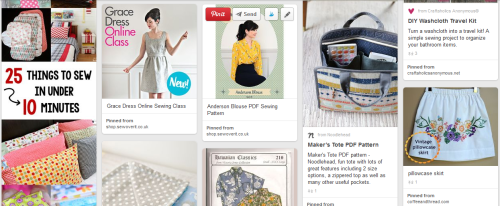 Simply Collectible Sewing Board on Pinterest