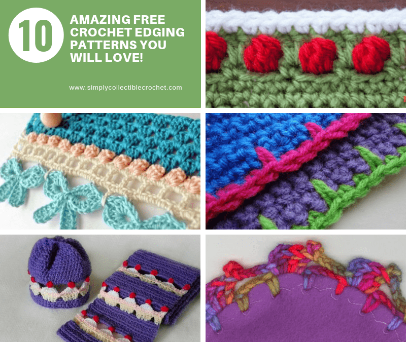 Crochet Edgings Archives Simply Collectible Crochet