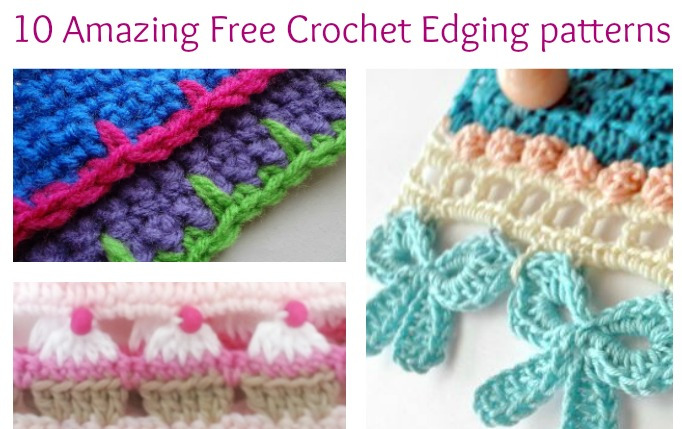 Free Crochet Patterns For Baby Blanket Borders ~ Dancox for .