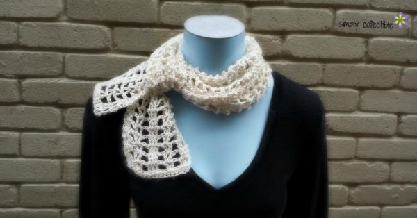Coraline's Summer Crush Scarf by SimplyCollectibleCrochet.com