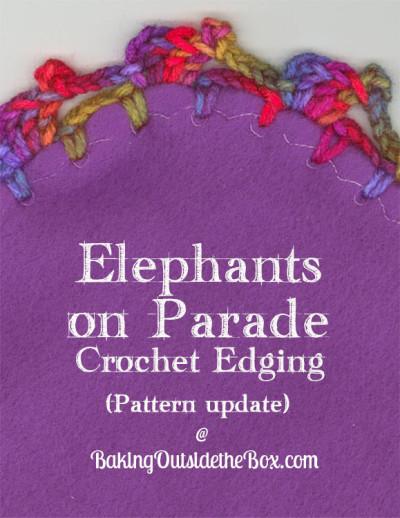 Elephants on Parade edging