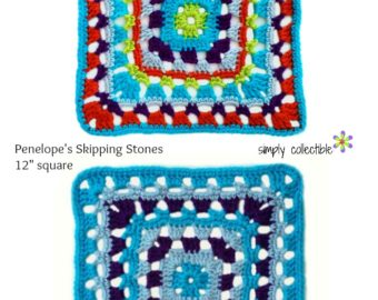 Penelope's Skipping Stones 12 inch Square
