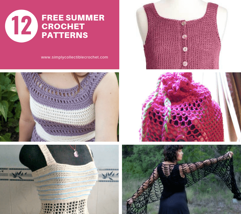12 Free Summer Crochet Patterns