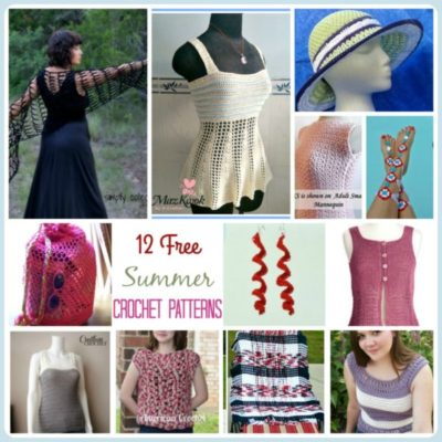 12 Free Summer Crochet Patterns - SimplyCollectibleCrochet.com