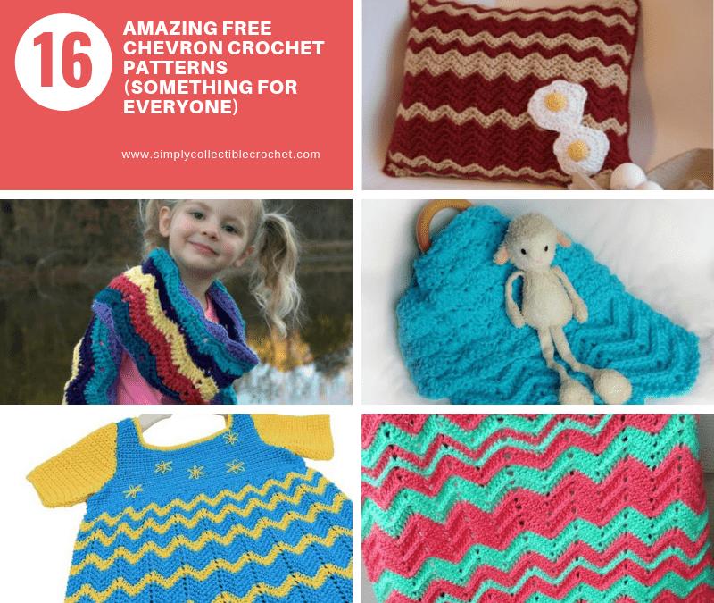 16 Amazing Free Chevron Crochet Patterns (Something for everyone)