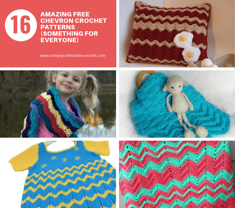16 Amazing Free Chevron Crochet Patterns (Something for everyone)