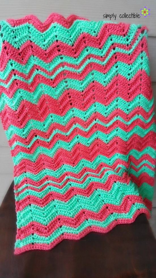 Chevron Flare Blanket - Baby to King Size, free crochet pattern by SimplyCollectibleCrochet.com