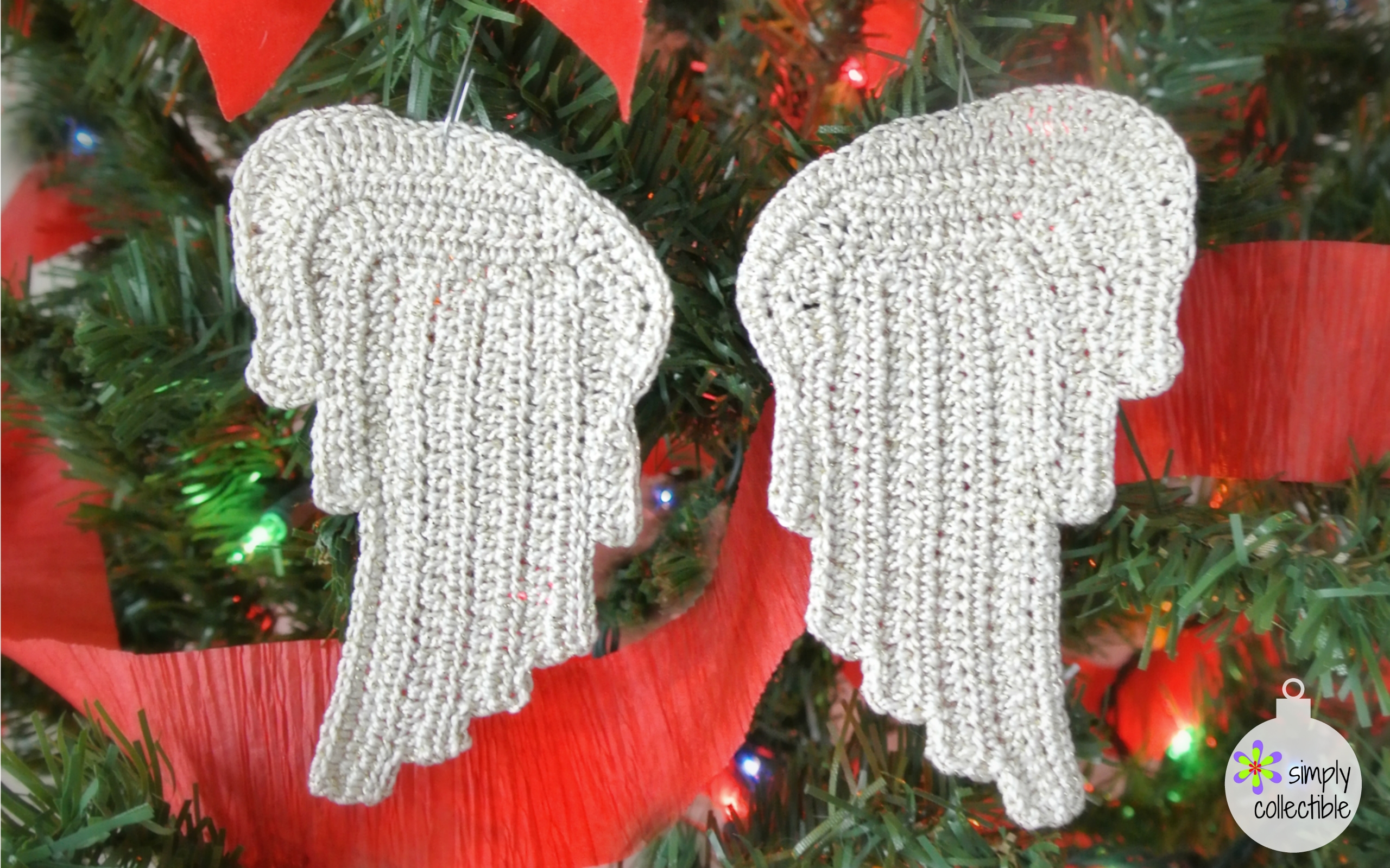 Beautiful, Free Tiny Angel Wings crochet pattern ...