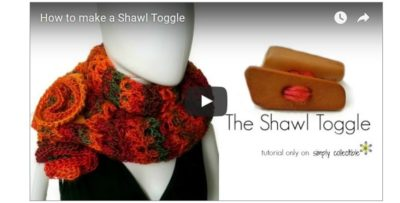 How to Make a Shawl Toggle – Video