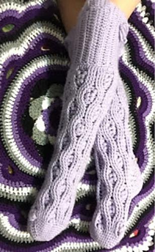 15 Free & Fabulous Crochet Sock Patterns | SimplyCollectibleCrochet.com