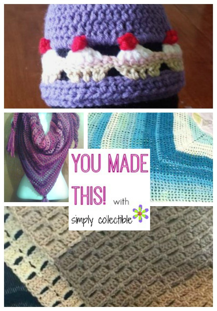 You Made This | FREE Crochet patterns by SimplyCollectibleCrochet.com