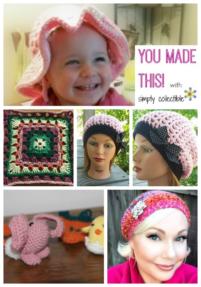 You Made This! - Edition #5 | free crochet patterns by SimplyCollectibleCrochet.com