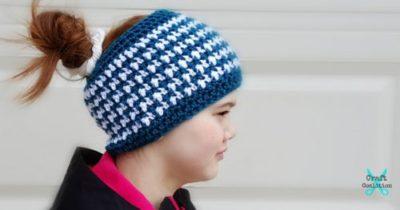 "This & That Messy Bun Hat – 2 Sizes! (20″, 22"")"