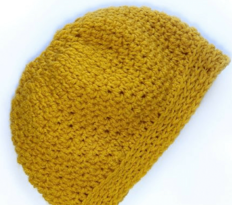 fd3907cdf2a Back n Forth Messy Bun Hat crochet pattern and Beanie