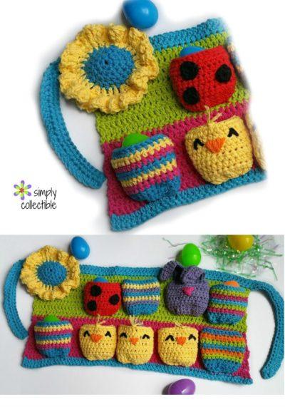 Most Egg-cellent Spring Egg Apron crochet pattern
