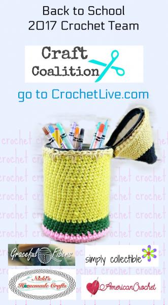Back to School LIVE – free crochet patternsand Q&A