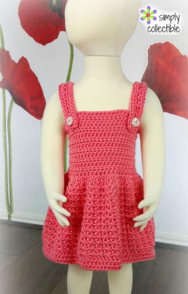 Reversible Crochet Baby Dress Pattern – Pretty, Pretty Princess
