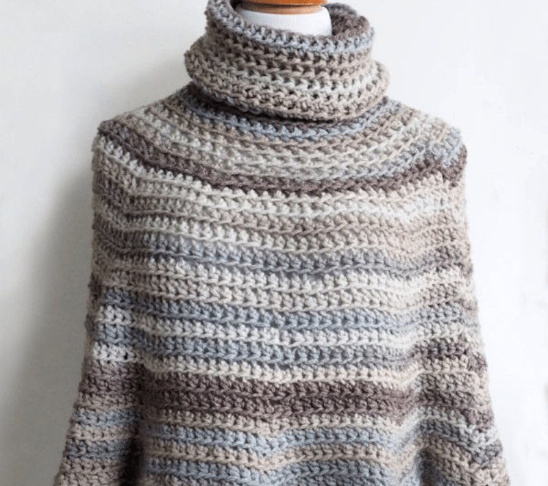 Hooded Crochet Poncho Pattern Simply Collectible Crochet