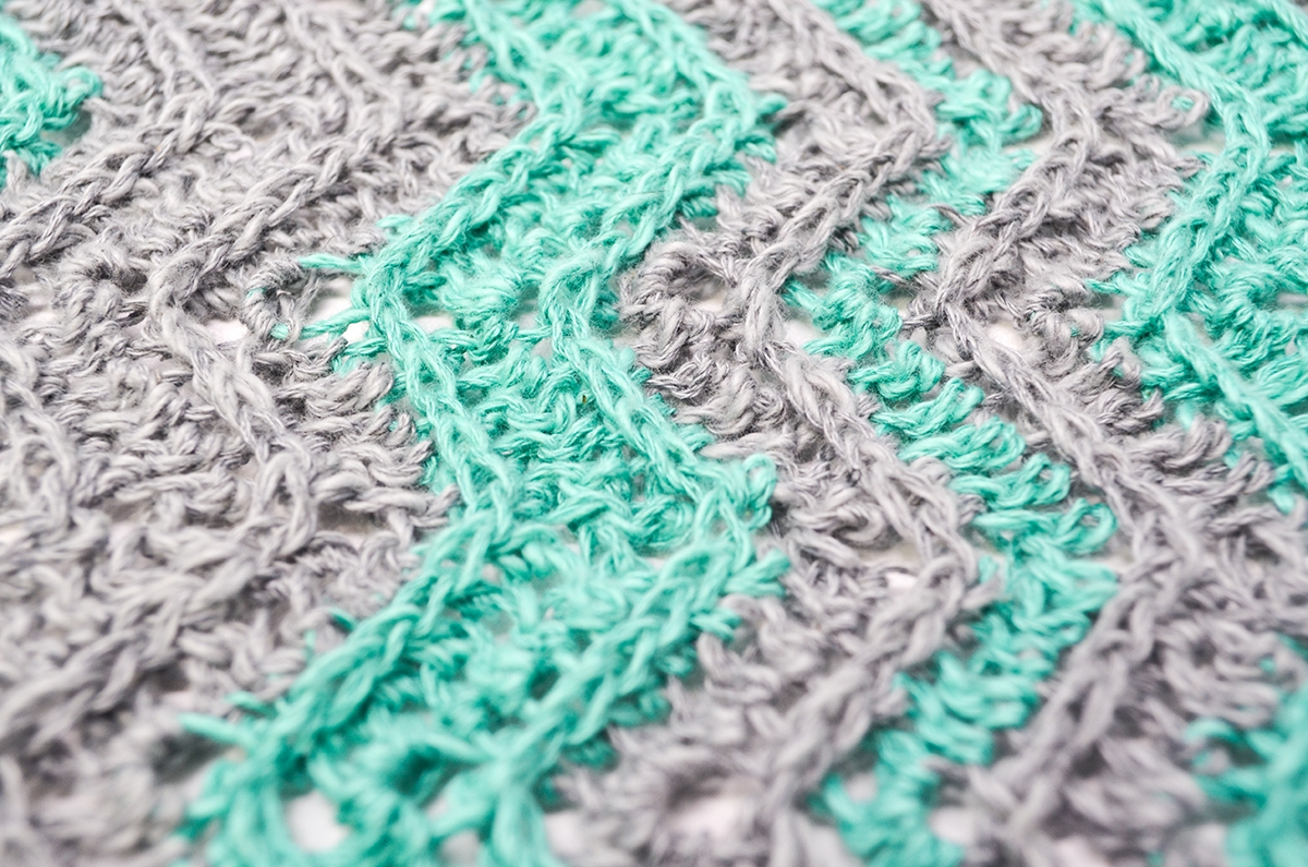 Chevron Flare Blanket Crochet Pattern