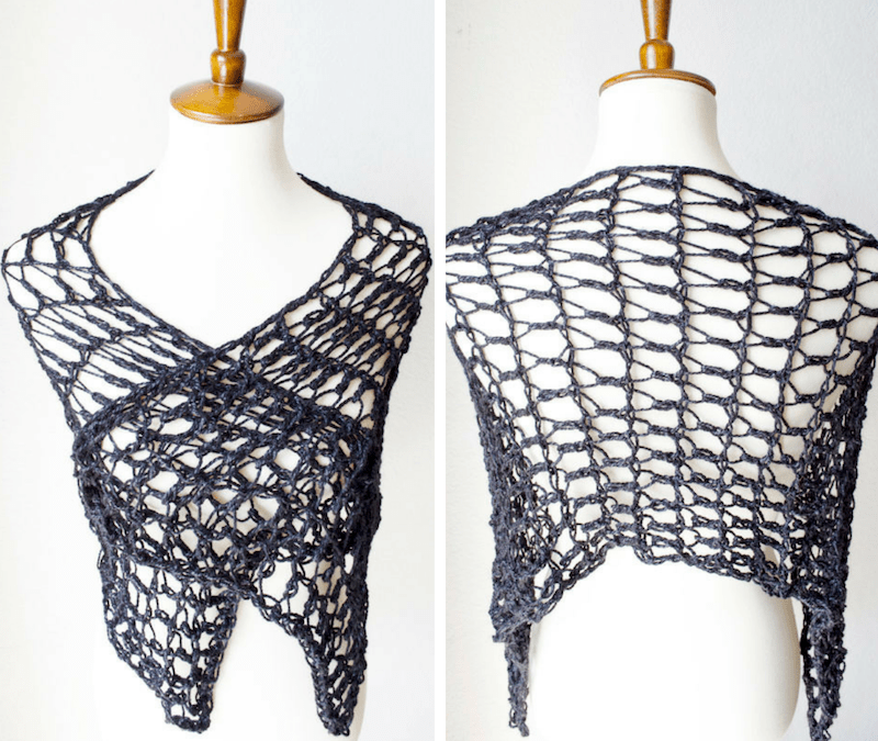 Flirty Shawl Crochet Pattern