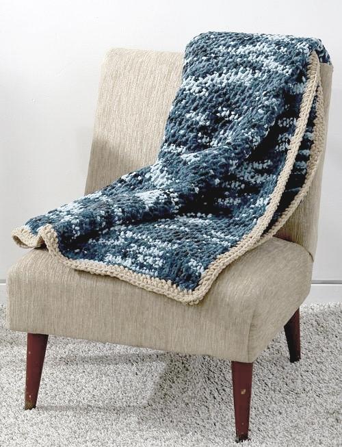 Honestly Easy Tunisian Crochet Afghan