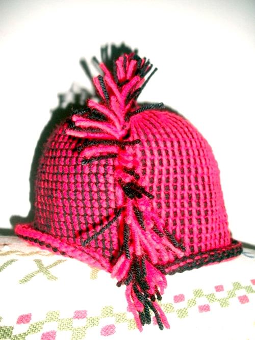 Mohawk Hat Tunisian Crochet Pattern
