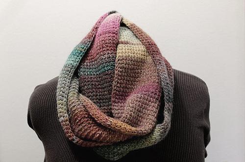 Quick Tunisian Crochet Cowl