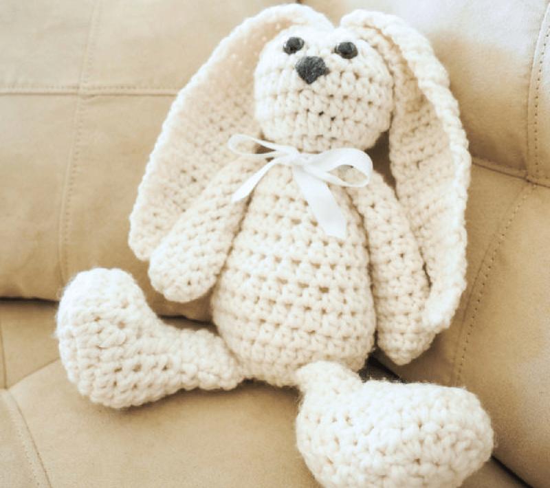 Snuggle Bunny Crochet Pattern
