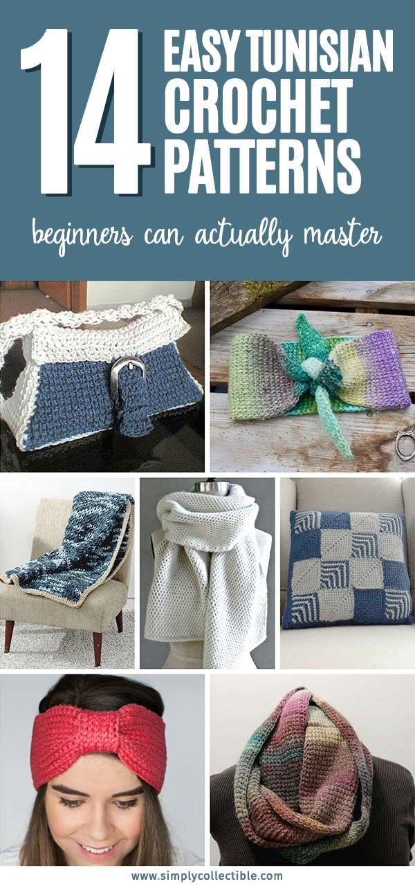14 Easy Tunisian Crochet Patterns - When you dive in with these #TunisianCrochetPatterns that we've compiled, learning them is fast and simple. #crochetpatterns #tunisiancrochet #easycrochet #easycrochetpatterns