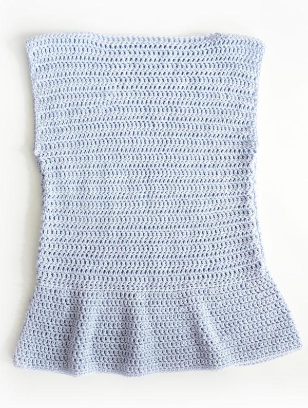 Peplum Top Crochet Patter
