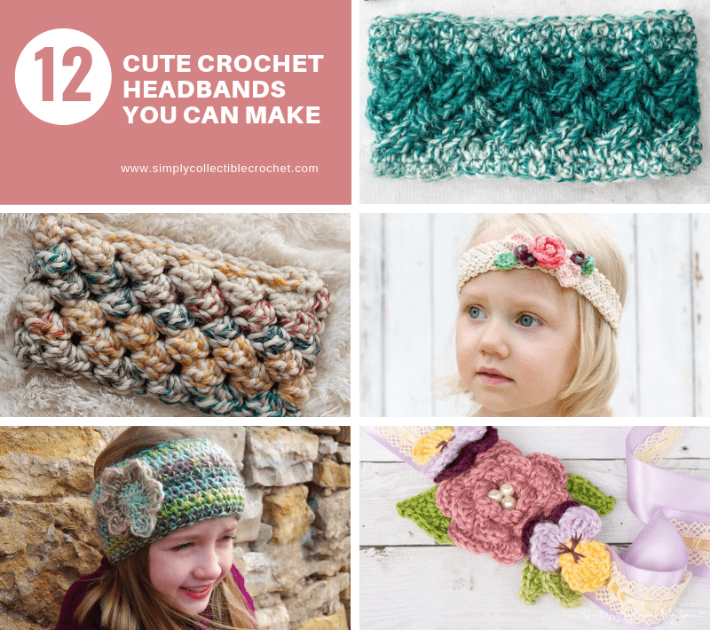 Cute Crochet Headbands You Can Make