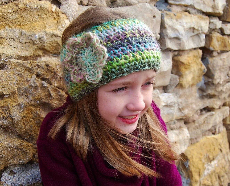 Boho Chic Crochet Headband