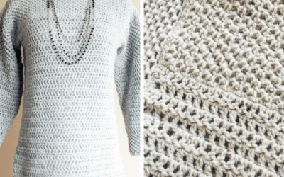 Mesh Stitch Sweater Crochet Pattern