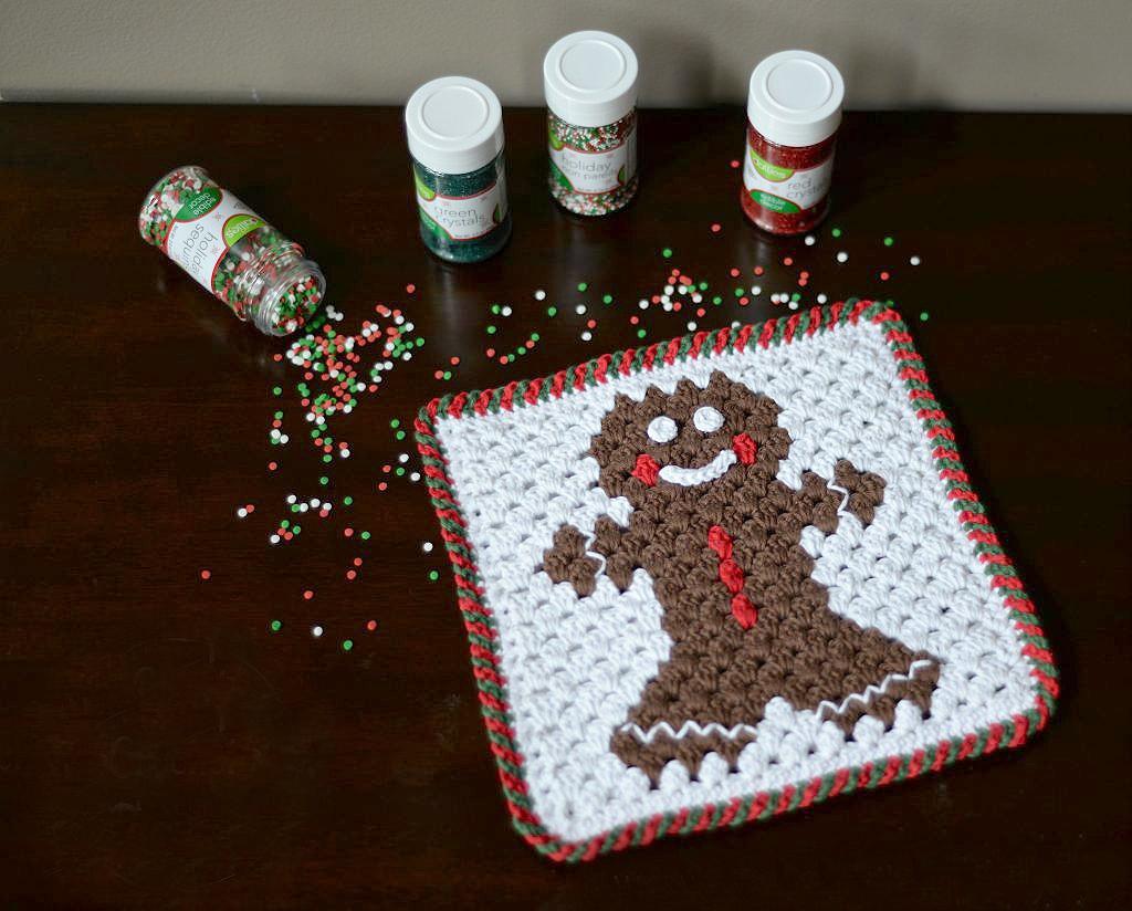 Criss-Cross Crochet Edging