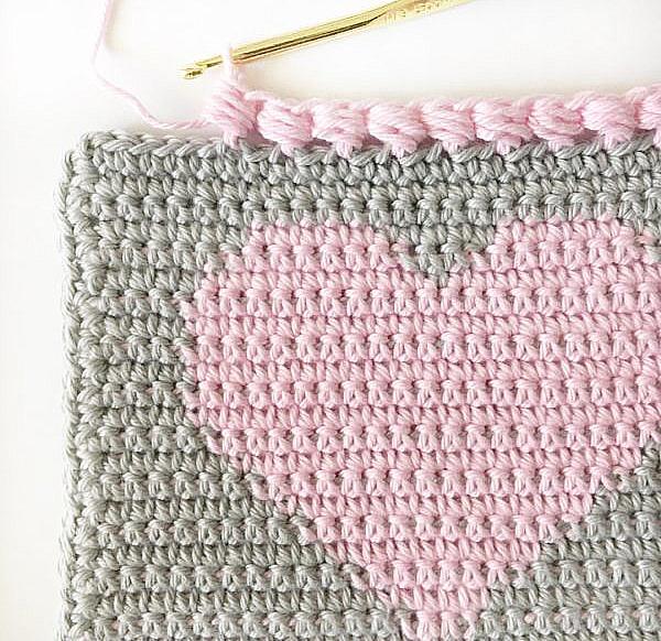 Crochet Puff Edge Stitch