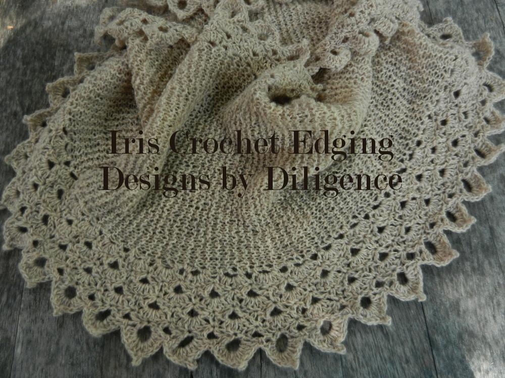 Iris Crochet Edging