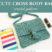 Cute Cross Body Bag Crochet Pattern