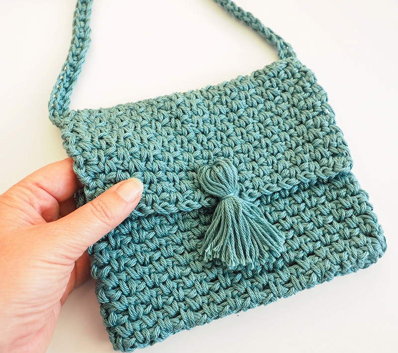Cute Cross Body Bag Crochet Pattern Simply Collectible Crochet