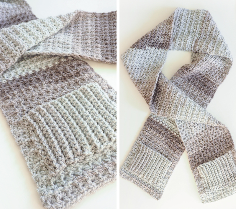 Cozy Pocket Scarf Crochet Pattern Simply Collectible Crochet