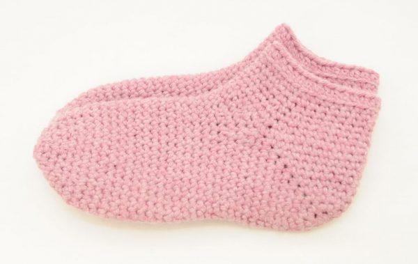 Bulky Crochet Socks
