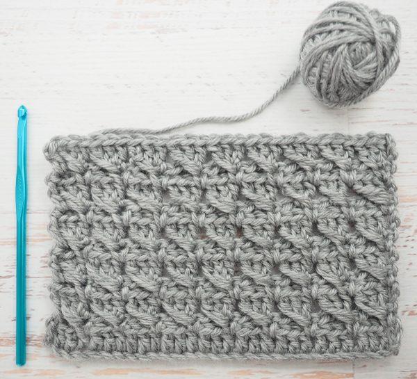 The Cross-Over Block Stitch