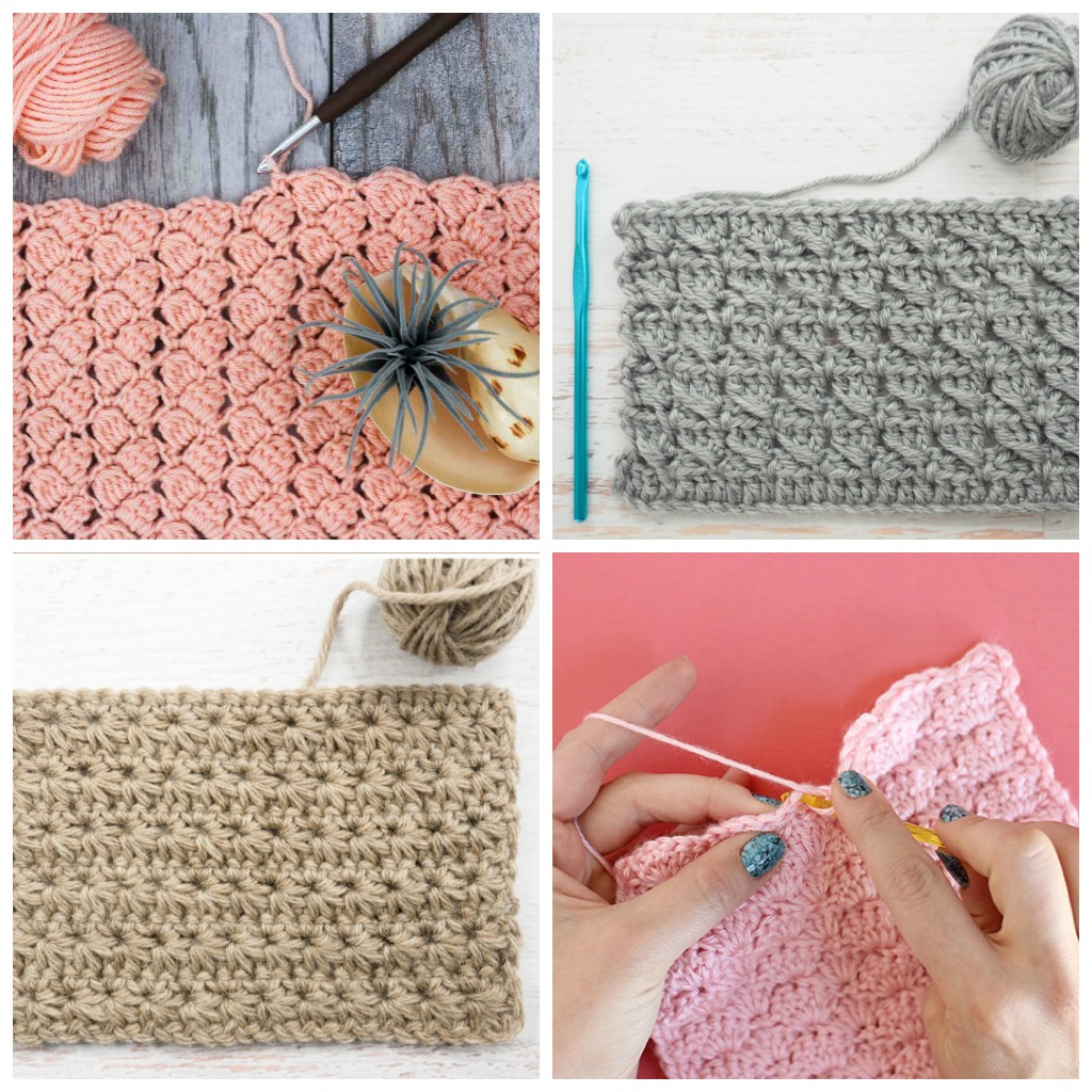 c137096d 14 Easy Crochet Stitches Perfect for Baby Blankets • Simply ...