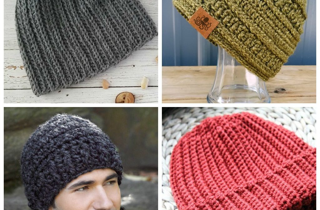 14 Men's Crochet Hat Patterns
